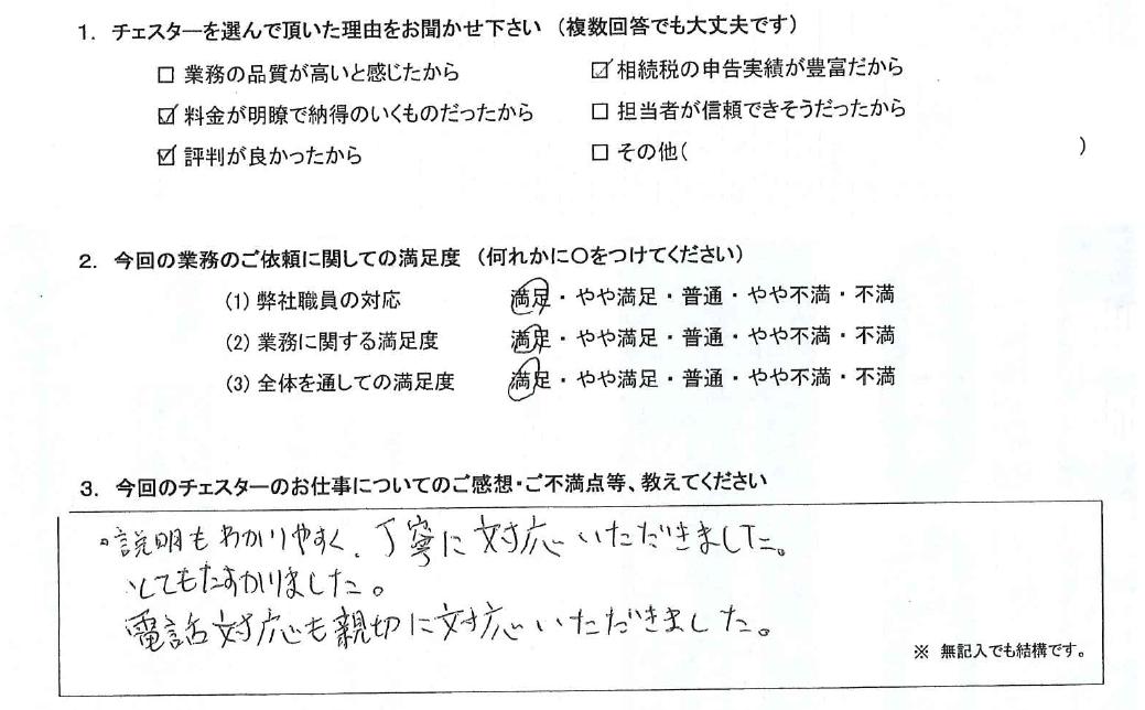 神奈川 30代・男性(No.785)