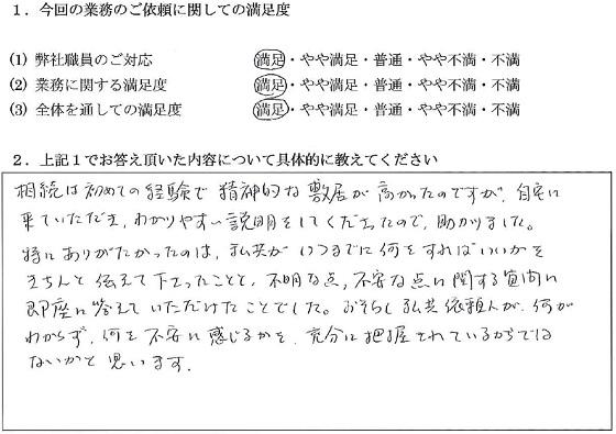 東京 50代・男性(No.021)