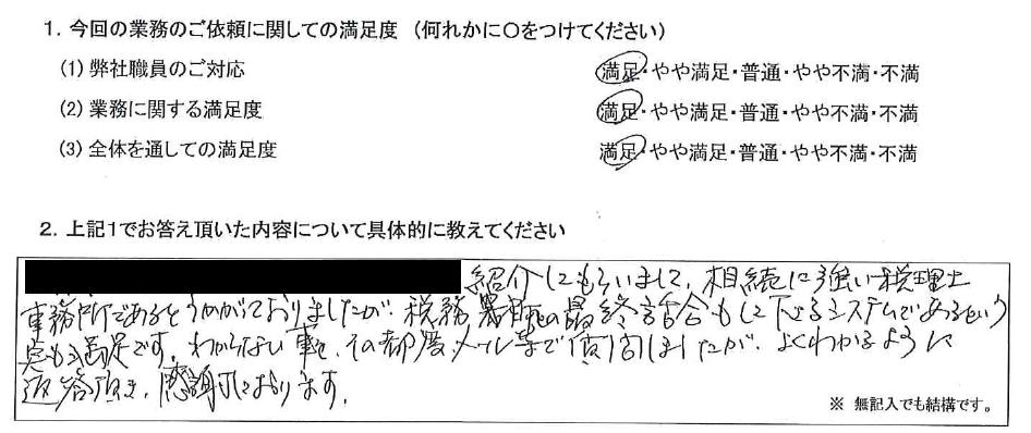 大阪 50代・女性(No.501)