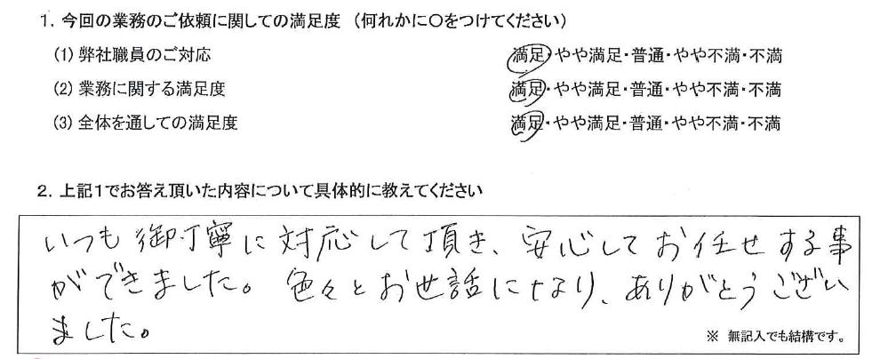 兵庫 50代・女性(No.547)