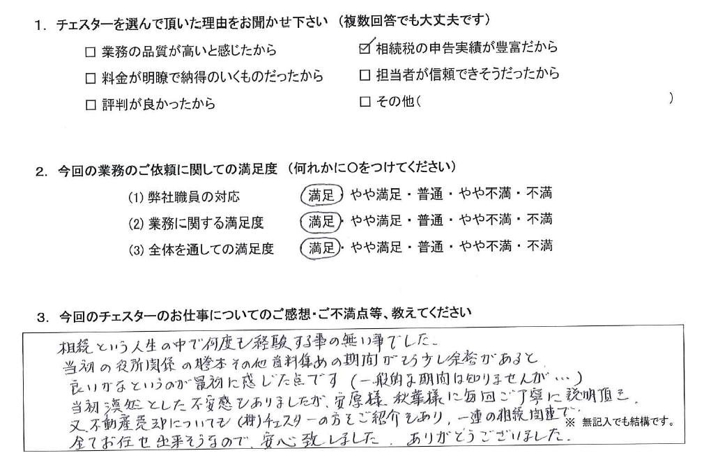千葉 50代・男性(No.985)