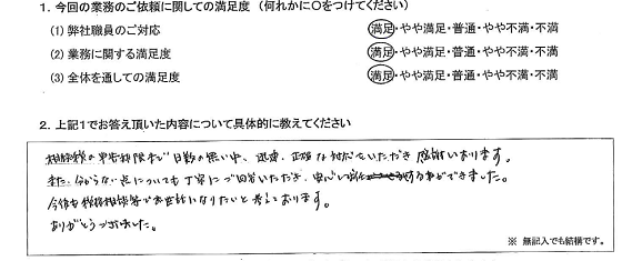 神奈川 40代・男性(No.249)