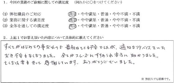 埼玉 50代・男性(No.123)
