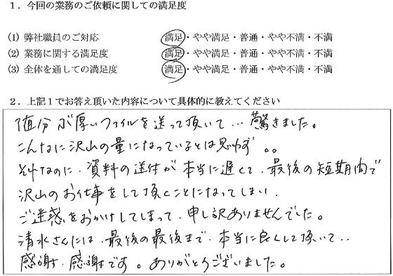 千葉 30代・女性(No.047)