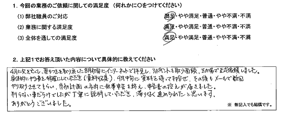 神奈川 40代・男性(No.217)