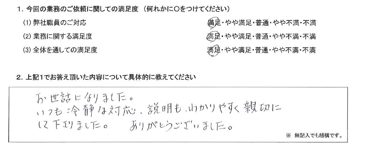 千葉 50代・女性(No.514)