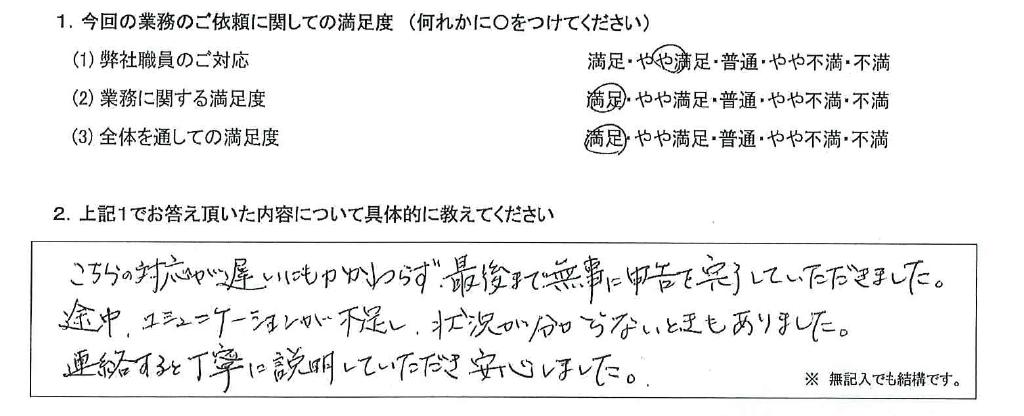 奈良 30代・男性(No.625)
