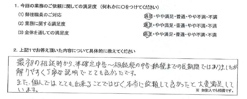 大阪 50代・男性(No.576)
