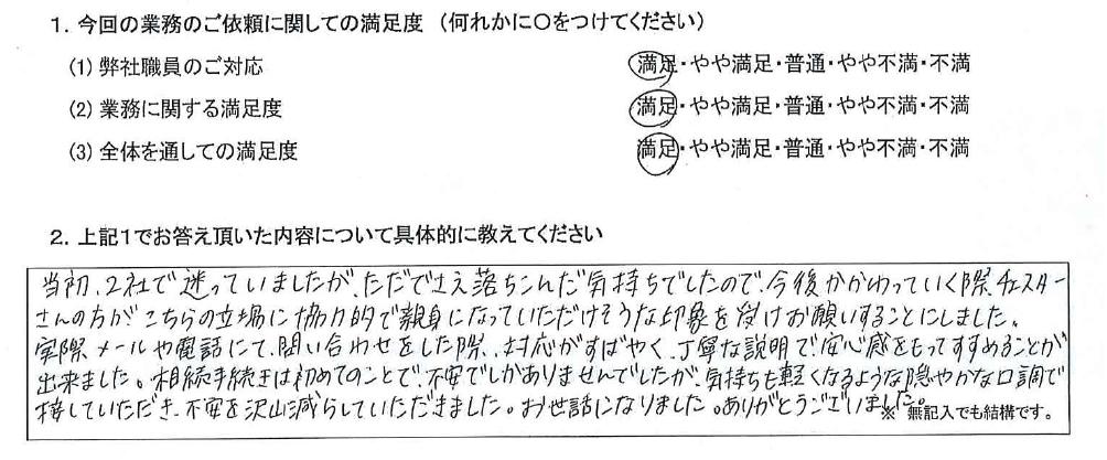 愛知 30代・女性(No.666)