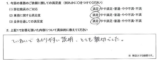 東京 50代・男性(No.334)