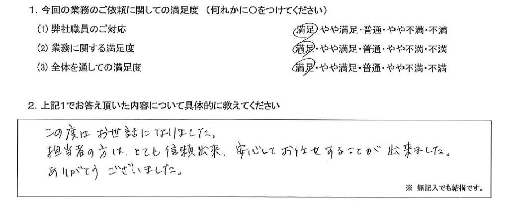 東京 50代・女性(No.569)