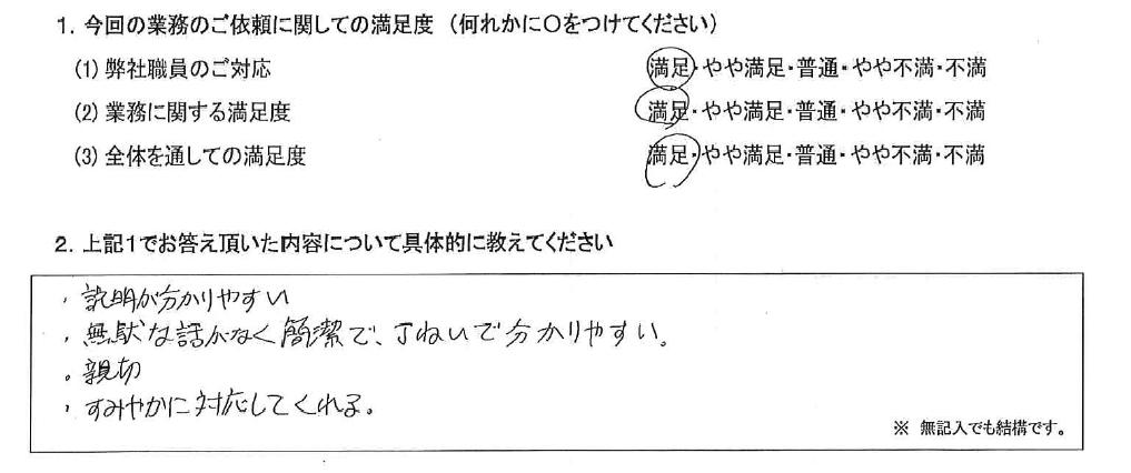 埼玉 50代・女性(No.589)