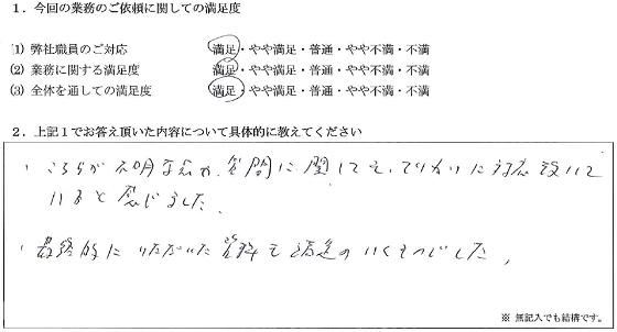 東京 50代・男性(No.057)