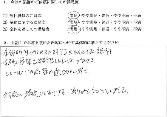 神奈川 50代・女性(No.045)