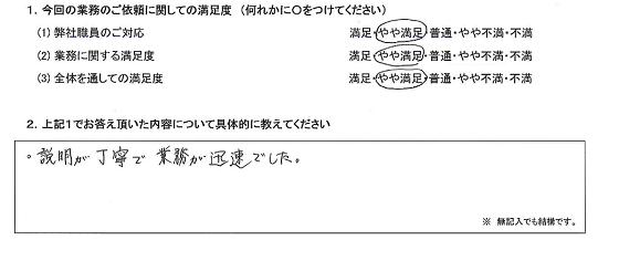 東京 50代・女性(No.255)