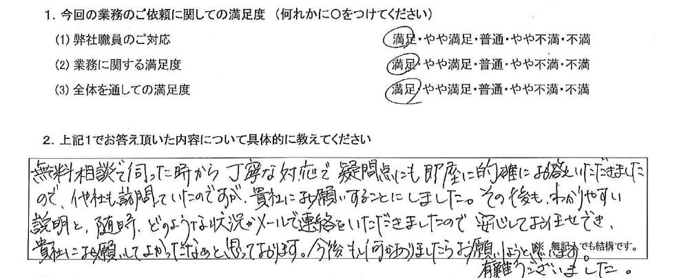 大阪 40代・女性(No.575)