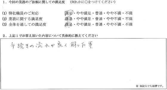 東京 70代・女性(No.089)