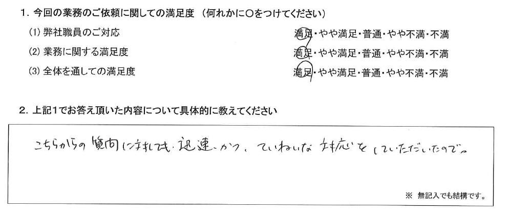 東京 50代・女性(No.598)