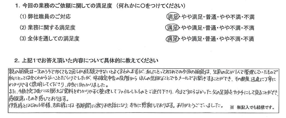 兵庫 50代・女性(No.632)