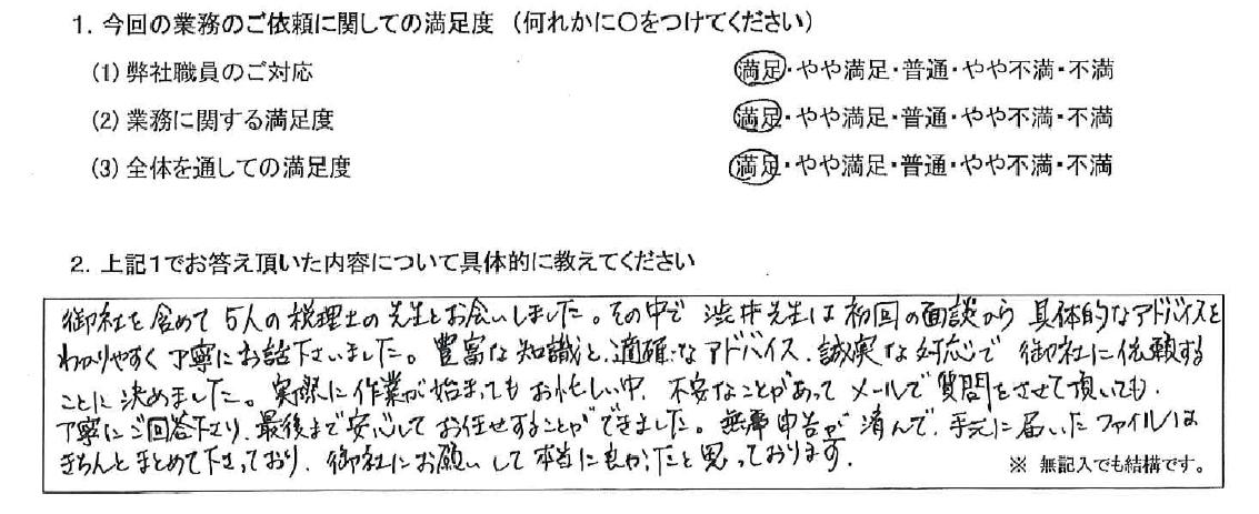 東京 40代・女性(No.521)
