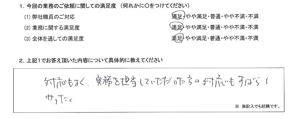 東京 40代・男性(No.579)