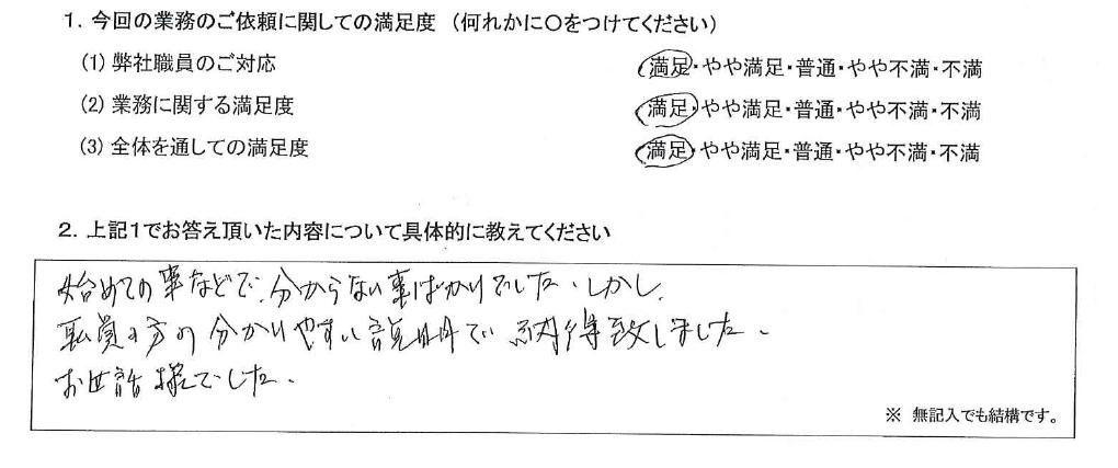 神奈川 60代・男性(No.613)