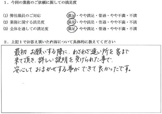 千葉 50代・女性(No.033)
