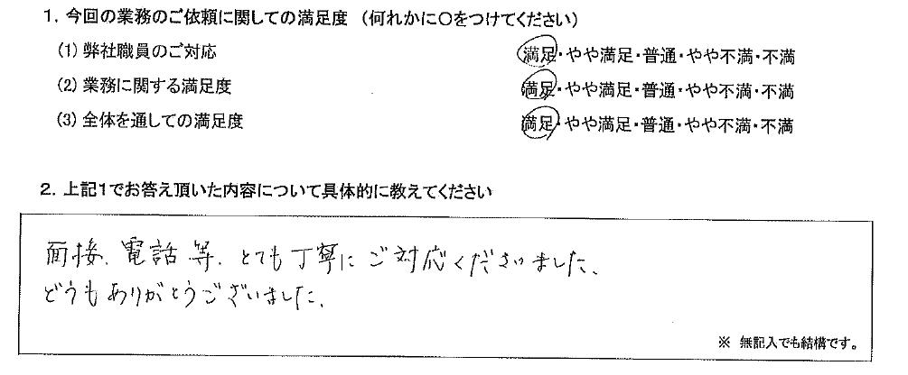 京都 50代・男性(No.637)