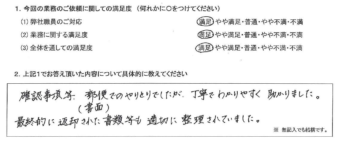 神奈川 50代・女性(No.525)