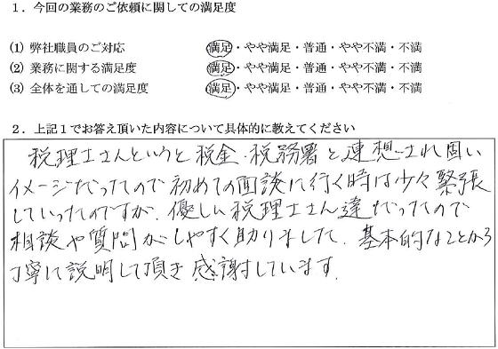 東京 40代・女性(No.046)