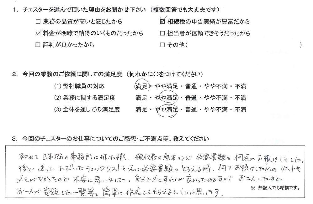 千葉 50代・女性(No.1271)