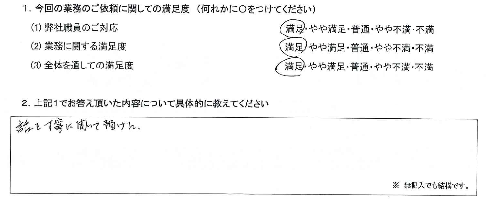 神奈川 60代・女性(No.628)
