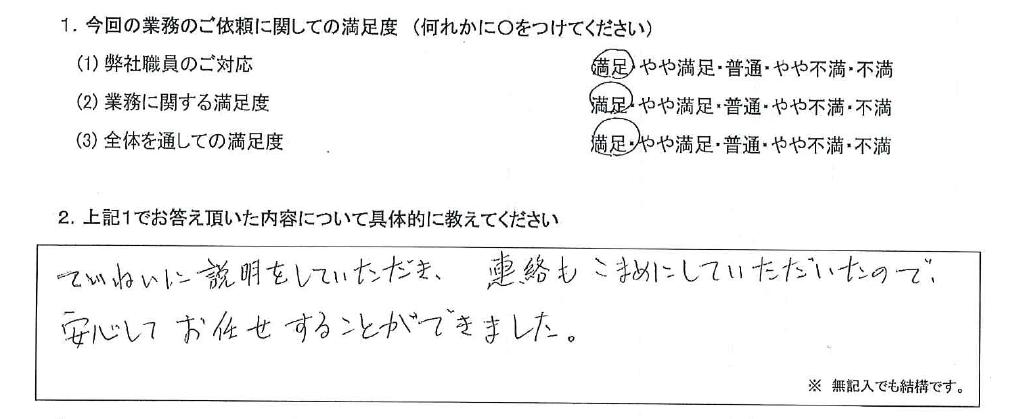 大阪 50代・女性(No.648)