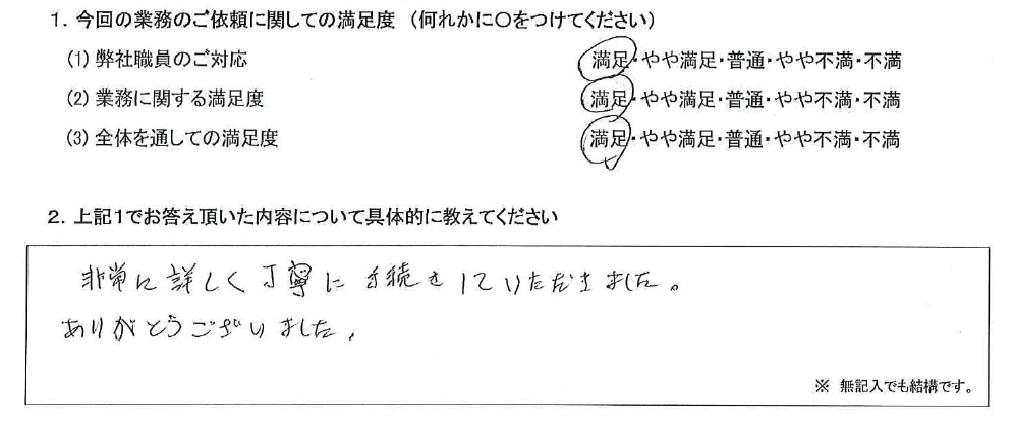 兵庫 50代・男性(No.592)