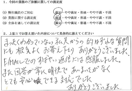 大阪 40代・男性(No.018)