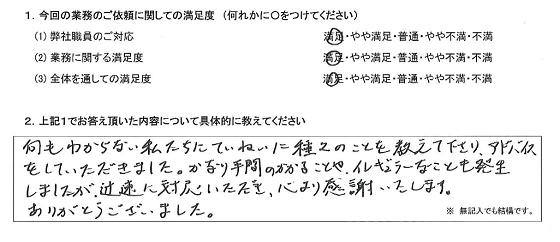 東京 40代・男性(No.295)