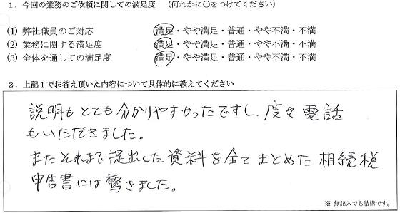 東京 60代・男性(No.080)