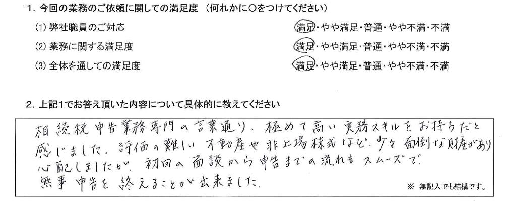 千葉 60代・男性(No.635)