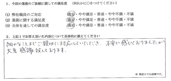 東京 50代・女性(No.142)