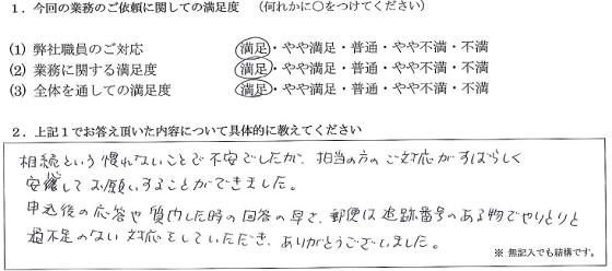 千葉 40代・女性(No.145)