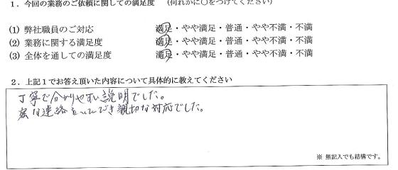 東京 50代・女性(No.155)