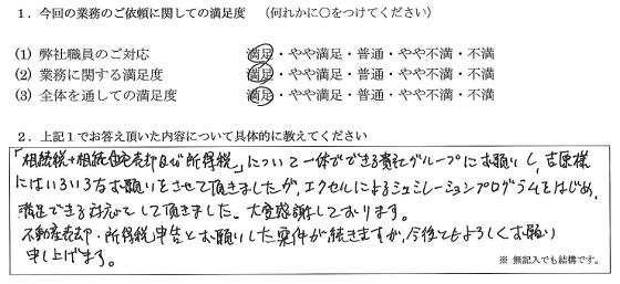 大阪 60代・男性(No.148)